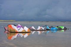 Power Kites Stock Photography