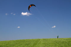 Power kiting Royalty Free Stock Images