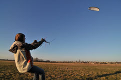Power kiting Stock Photography