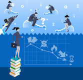 Power of knowledge business concept Stock Photo