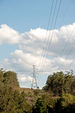 Power Line 2 Stock Images