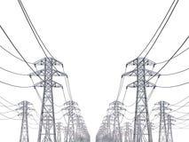 Power Line Royalty Free Stock Photo