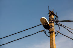 Power line Royalty Free Stock Photography