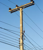 Power line. Stock Photos