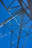 Power Line Framework Stock Photo