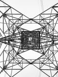 Power Line Grid Royalty Free Stock Image