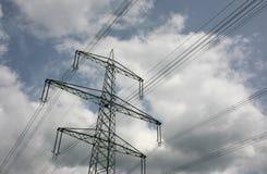 Power line Stock Photos
