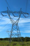 Power Line Tower Royalty Free Stock Photo