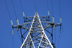 Power line II Royalty Free Stock Images