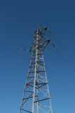 Power line isolated Royalty Free Stock Images