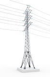 Power line Stock Image