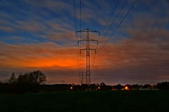 Power line. Stock Photography