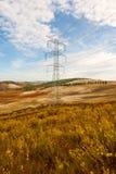 Power Line Stock Photo