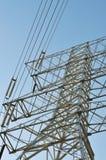 Power line pole Stock Photos