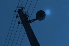 Power line pole Royalty Free Stock Photos