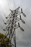 Power line pylon Stock Photo