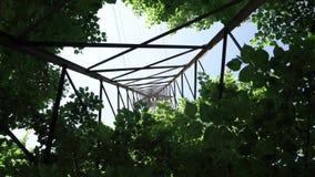 A power line pylon