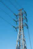 Power line pylon Royalty Free Stock Photo
