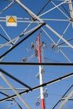 Power line repairs Royalty Free Stock Photos