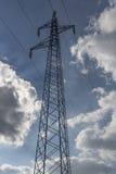 Power line with sky Stock Photos