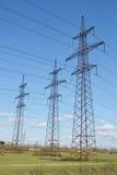 Power line. Stock Photo