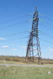 Power line. Royalty Free Stock Photography