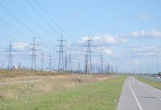 Power line. Stock Image