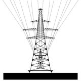 Power line. Vector EPS10 Stock Images