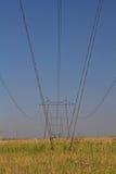 Power line Royalty Free Stock Photos