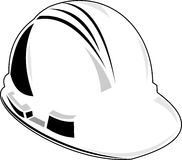 Power lineman hard hat Royalty Free Stock Photos