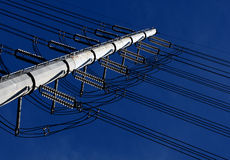 Power Lines Stock Photography