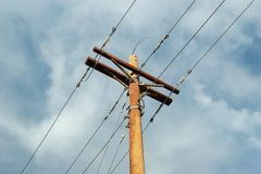 Free Power Lines Royalty Free Stock Image - 2230756