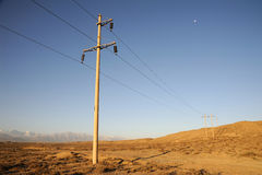 Free Power Lines Royalty Free Stock Image - 30668406