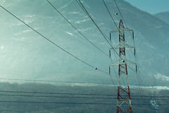Free Power Lines Royalty Free Stock Photo - 42035445