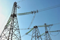 Free Power Lines Stock Photography - 49683412