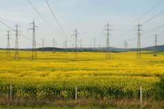 Free Power Lines Royalty Free Stock Image - 54144346
