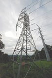 Power Lines, high voltage.  Transmission towers. Jersey  NJ Stock Photography