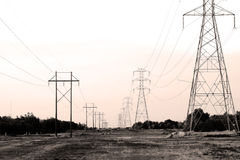 Power Lines Royalty Free Stock Image