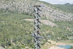 Power lines. Stock Photos