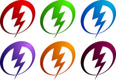 Power logo Stock Photo