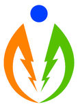 Power logo Stock Photos