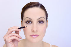 The power of makeup Royalty Free Stock Images