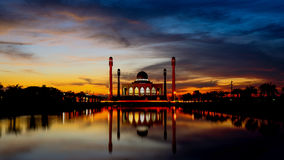 Power of Masjid Royalty Free Stock Photography
