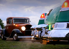 Power Meet - Hot Rod Stock Photo
