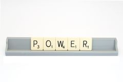 Power message Stock Image