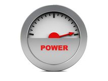 Free Power Meter Royalty Free Stock Photography - 8528097