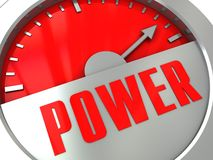 Power meter Stock Images