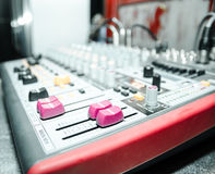 Power mixer. For party and pub Stock Photo