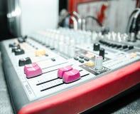 Power mixer Stock Photo