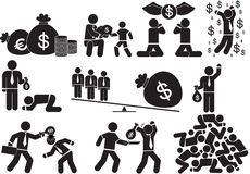 Power money Royalty Free Stock Images